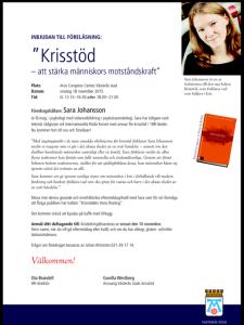 Inbjudan Västerås Stad Krisstöd